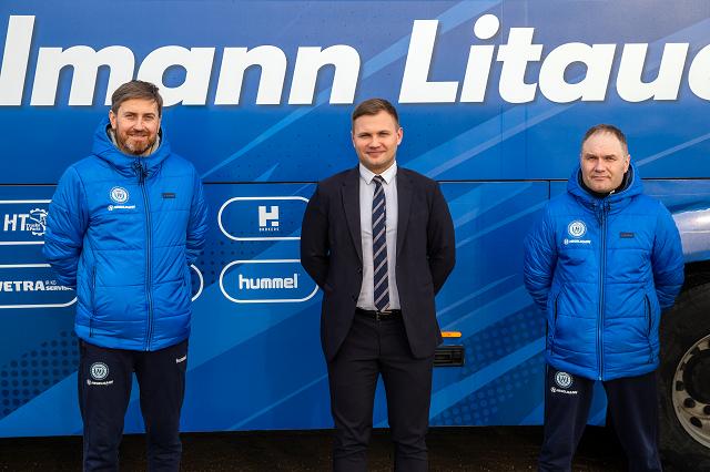 "HBrokers bendradarbiauja su """"FC Hegelmann Litauen"" komanda"